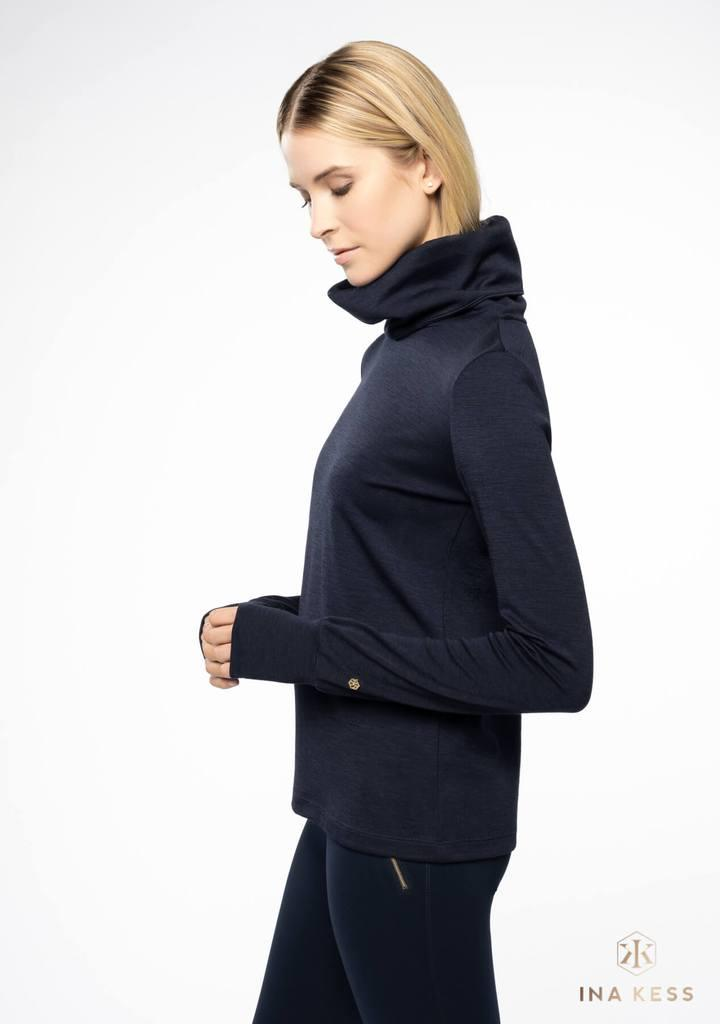 Merino Turtleneck Sweater black