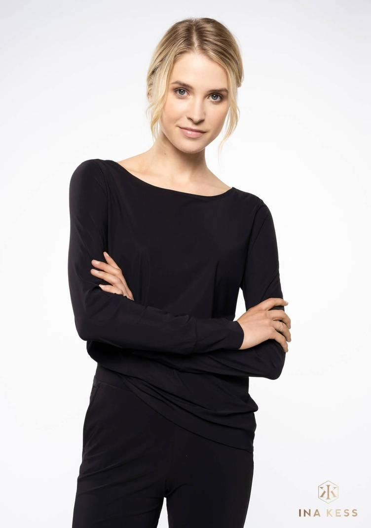 All Day long Blouse black - 1