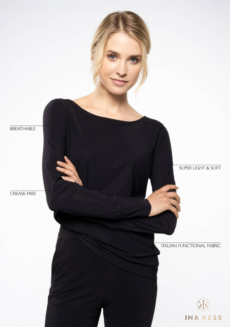All Day long Blouse black - 0
