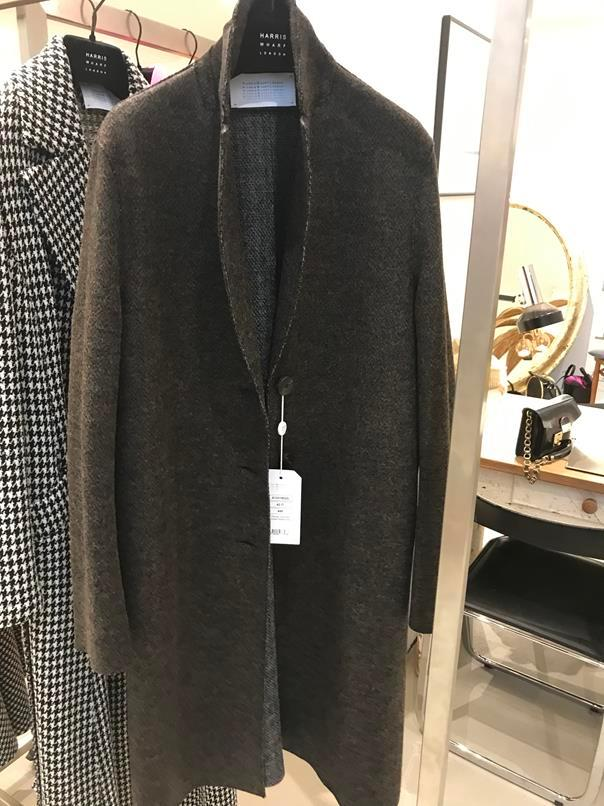 Overcoat Double Face braun